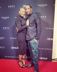 Janice Freeman with her husband