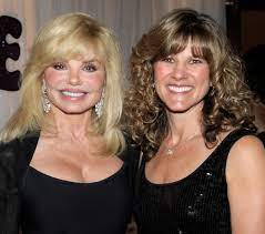 Loni Anderson with her daughter