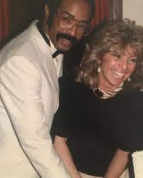 Dennis Graham with his wife