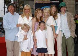Trent Olsen with his family