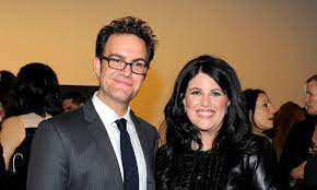 Monica Lewinsky with her brother