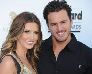 Corey Bohan with his ex-wife