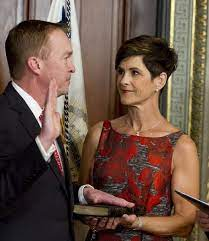 Mick Mulvaney with his wife
