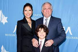 Julie Chen with her husband & son