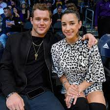 Colton Underwood with his ex-girlfriend Aly