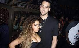 Nikki Mudarris with her ex-boyfriend Austin
