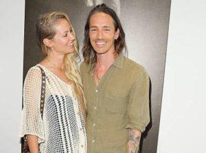 Brandon Boyd with his ex-girlfriend Baelyn