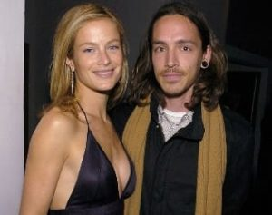 Brandon Boyd with his ex-girlfriend Carolyn