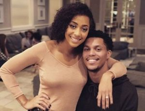 Sydel Curry with her husband