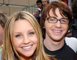 Amanda Bynes with her ex-boyfriend Drake