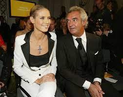 Heidi Klum with her ex-boyfriend Flavio
