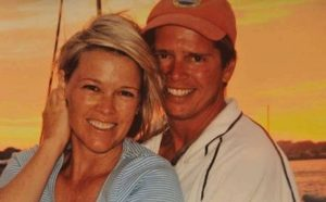 Heather Unruh with her husband