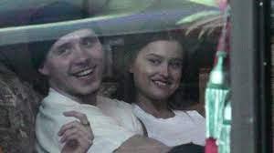 Brooklyn Beckham with his girlfriend Lexi