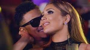 Nikki Mudarris with her ex-boyfriend Lil