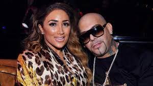 Nikki Mudarris with her ex-boyfriend Mally