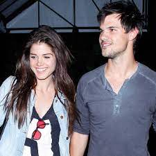 Taylor Lautner with his ex-girlfriend Marie