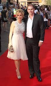 Gillian Anderson with her ex-boyfriend Mark