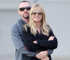 Heidi Klum with her ex-boyfriend Martin