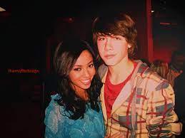 Vanessa Morgan with her ex-boyfriend Munro