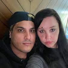 Amanda Bynes with her boyfriend Paul