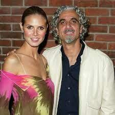Heidi Klum with her ex-husband Ric