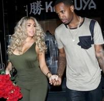 Nikki Mudarris with her boyfriend Safaree