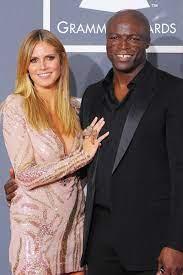 Heidi Klum with her ex-husband Seal
