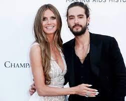 Heidi Klum with her ex-boyfriend Tom