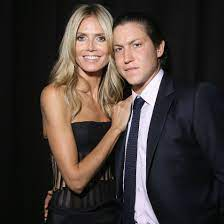 Heidi Klum with her ex-boyfriend Vito