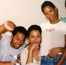 Stacey Dash with her ex-mother & brother