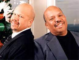 Tom Joyner with his brother