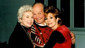 Kathie Lee Gifford with her parents