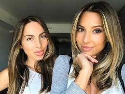 Ayla Woodruff with her sister