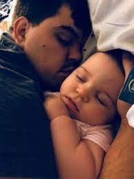 Doug Kiker with his daughter