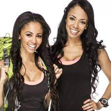 Vanessa Morgan with her sister