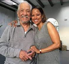 Stacey Dash with her father