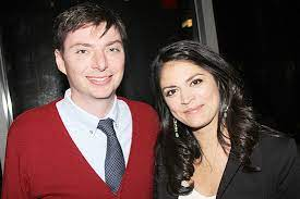 Cecily Strong with her boyfriend