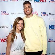 Meyers Leonard with his wife