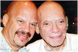 Tom Joyner with his father
