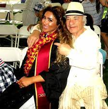 Nikki Mudarris with her father