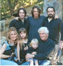 Brandon Boyd with his family