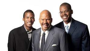 Tom Joyner with his sons