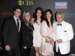 Matthew Trebek with his family
