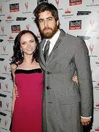 Christina Ricci with her ex-boyfreind Adam