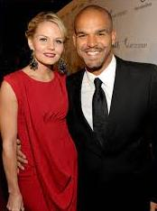 Jennifer Morrison with her ex-boyfriend Amaury