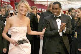 Sean Combs with his ex-girlfriend Cameron