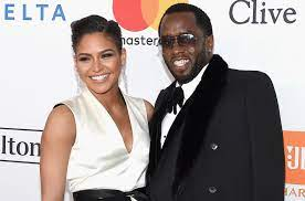 Sean Combs with his girlfriend Cassie