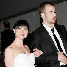 Christina Ricci with her ex-boyfreind Chris