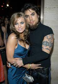 Carmen Electra with her ex-husband Dave
