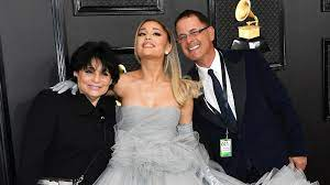 Joan Grande with her ex-husband Edward